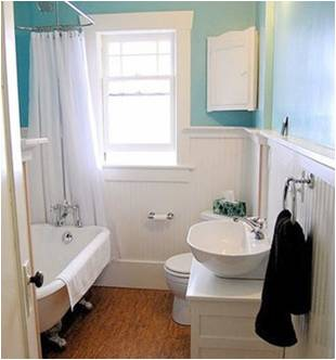How to remodel small bathroom 2017 grasscloth wallpaper for Pictures of renovated small bathrooms