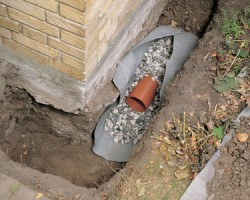 Is your basement water leaking from any of these locations for Drainage maison en pierre