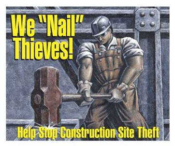 Metal Theft in Construction
