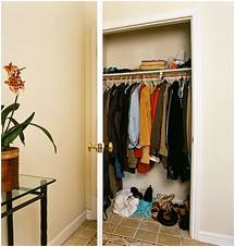 coat closets for storage