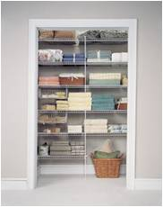 linen closets for storage